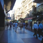 "The shopping centers along Calle Florida in Buenos Aires are bustling thanks to the economic boom. Peter Langer / DanitaDelimont.com ""Danita Delimont Photography""/Newscom"