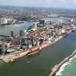Port in Recife, northeastern Brazil. HO/AFP/Getty Images/Newscom