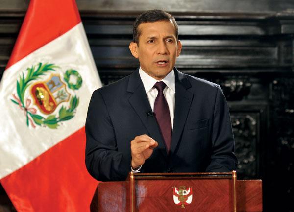 Peruvian President, Ollanta Humala