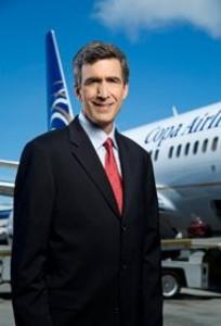 Copa Airlines CEO Pedro Heilbronn.