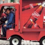 An ecological Coca Cola truck in Chile. (Courtesy: Coca-Cola company).