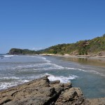 The coast near Brito, Nicaragua - the proposed Pacific entrance for the Canal.