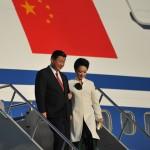 Chinese leader Xi Jinping and wife Peng Liyuan. Photo: Apec 2013