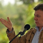 Colombian President Juan Manuel Santos. Photo: Global Panorama