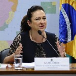 Brazil seeks stronger trade ties with Russia       Photo: Brazilian Minister of Agriculture Katia Abreu. Senado Federal