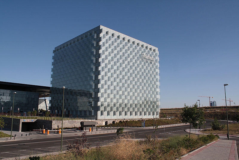 Telefonica leads Latin Trade's second quarter MNC ranking. Photo: ecemaml/Wikimedia Commons