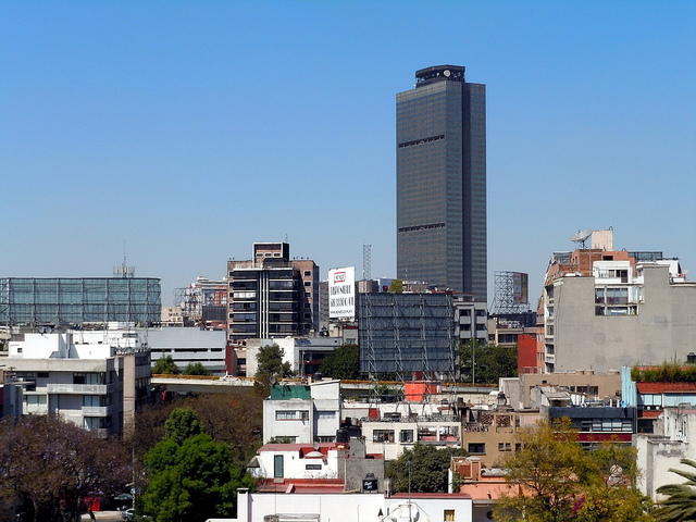 The Pemex headquarters in Mexico City. Photo: Matthew Rutledge/Flickr