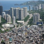 Beachfront high-rises are just a short distance from favelas (shantytowns). Latin America remains the most unequal region in the world and without reforms that spur growth and further tackle inequalities, these recent gains are at risk. Photo: AHLN/Flickr