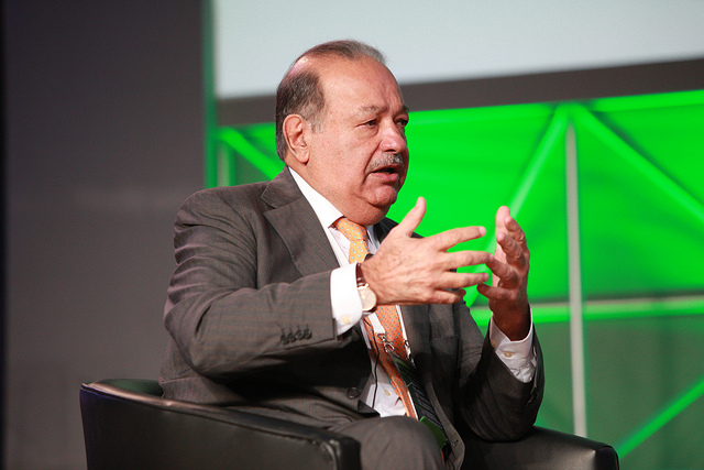 Carlos Slim's telecoms giant America Movil is one of the revenue kings. Image: World Travel & Tourism Council/Flickr