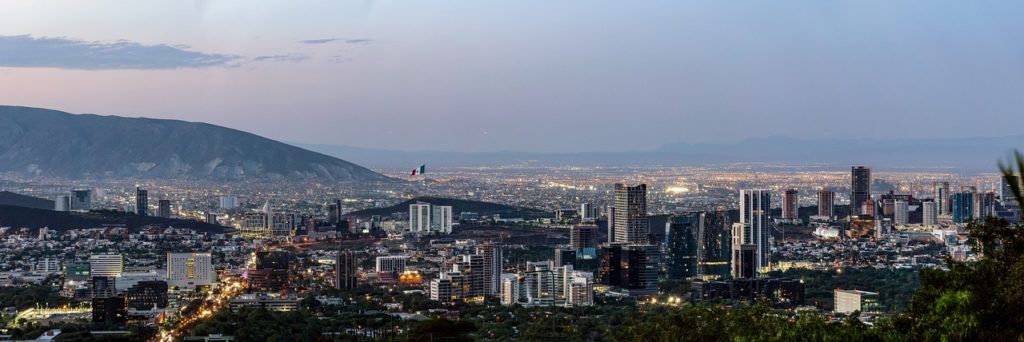 Monterrey, Nuevo Leon. Mexico is among the top 10 growth markets for the hotel industry in the next decade.