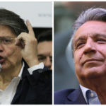 Guillermo Lasso (left), Lenín Moreno. Photos: Agencia de Noticias ANDES/Flickr