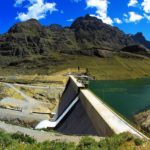 The Huanza hydrolectric project in Peru.