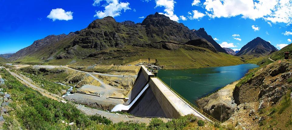 The Huanza hydrolectric project in Peru.