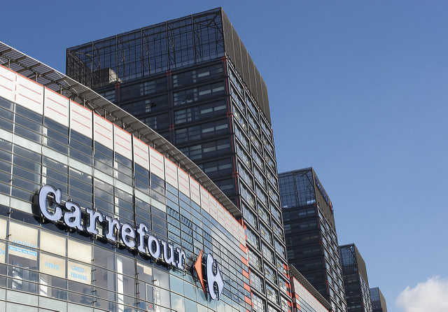 Carrefour was one of the companies that jumped two spots in the index. Photo: Mike Knell/Flickr