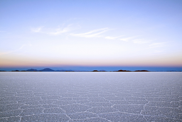 Bolivia's Salar de Uyuni. The country's salt flats contain 9 million tons of lithium. Photo: Dimitry B./Flickr