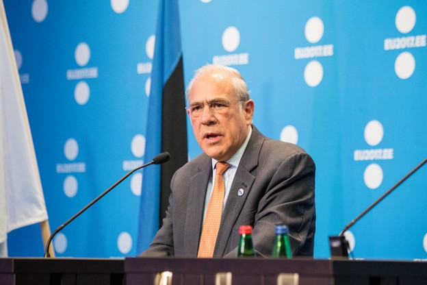 Angel Gurría, Secretary General, OECD. Estonian Presidency/Flickr