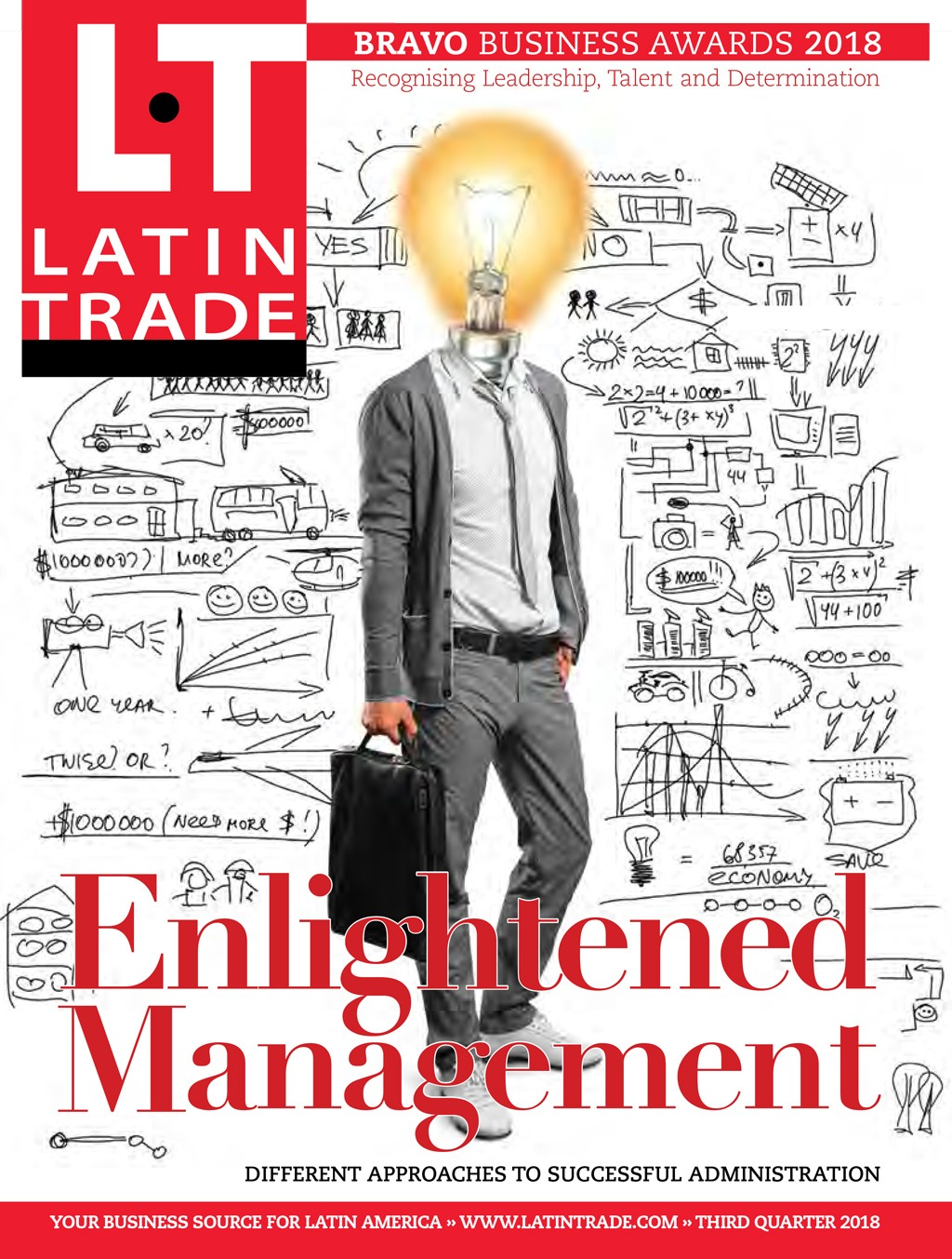 Cover of Latin Trade Magazine