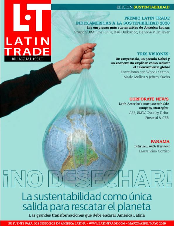 Cover of Latin Trade Magazine